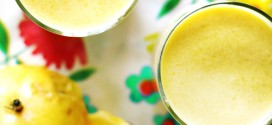 Mango-passievruchtsmoothie